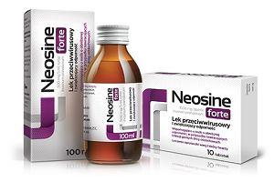 Neosine. Lek do stosowania w walce z przyczynami chorób dróg oddechowych