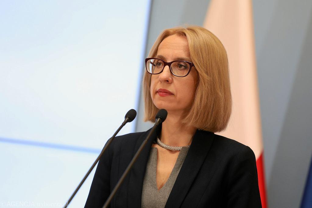 XKonferencja minister Rafalskiej i minister Czerwinskiej w sprawie osob niepelnosprawnych
