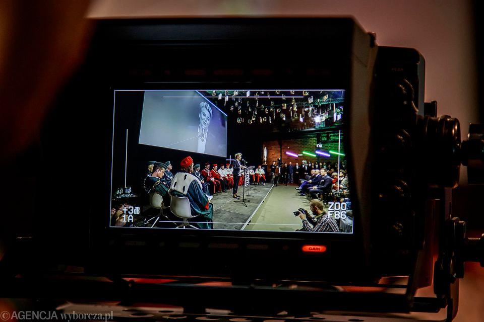 Inauguracja roku akademickiego w Wyższej Szkole Filmowej w Łodzi