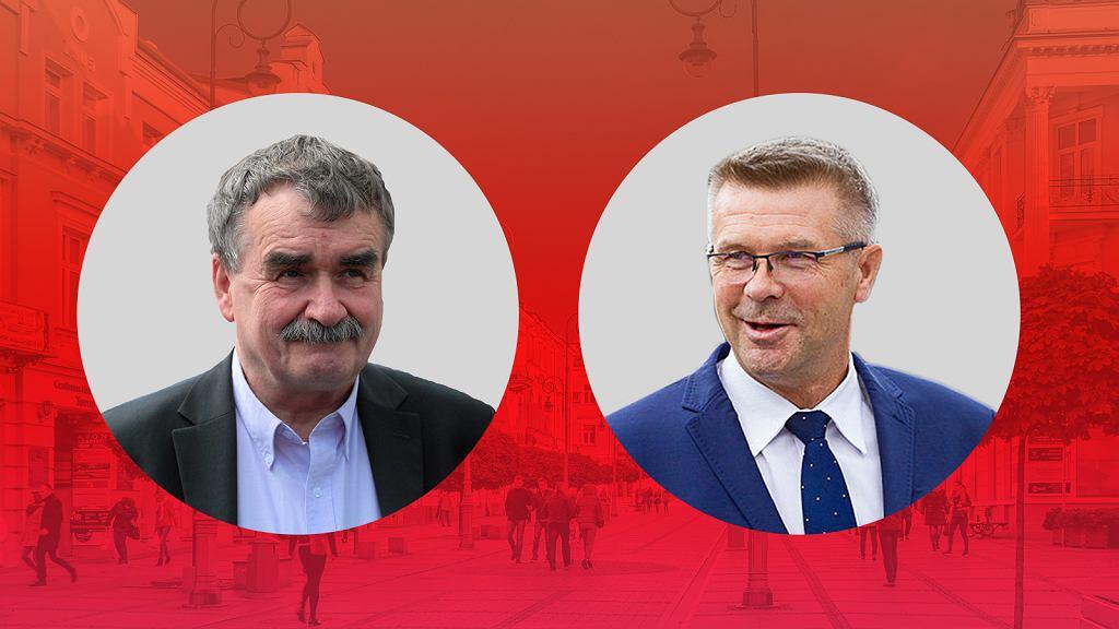 Wojciech Lubawski i Bogdan Wenta