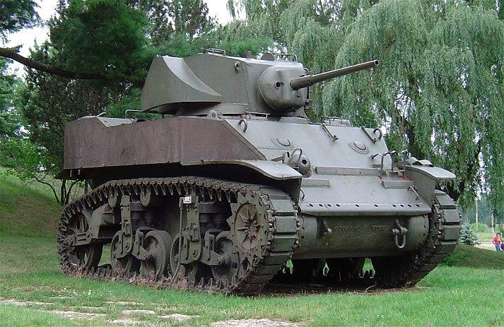 Czołg Stuart M5