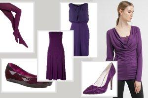 Ubrania w fioletowym kolorze - przegl�d dla ka�dej z nas