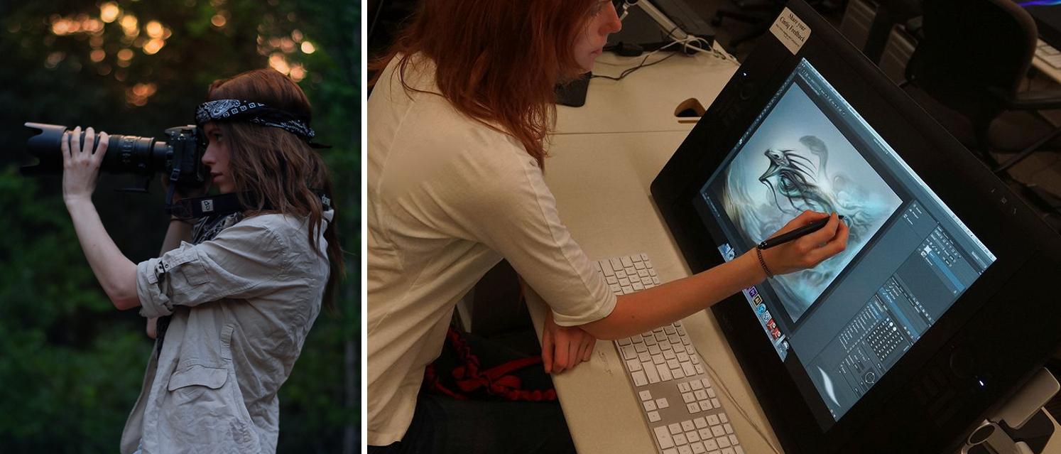 Kate w pracy (fot. archiwum prywatne)
