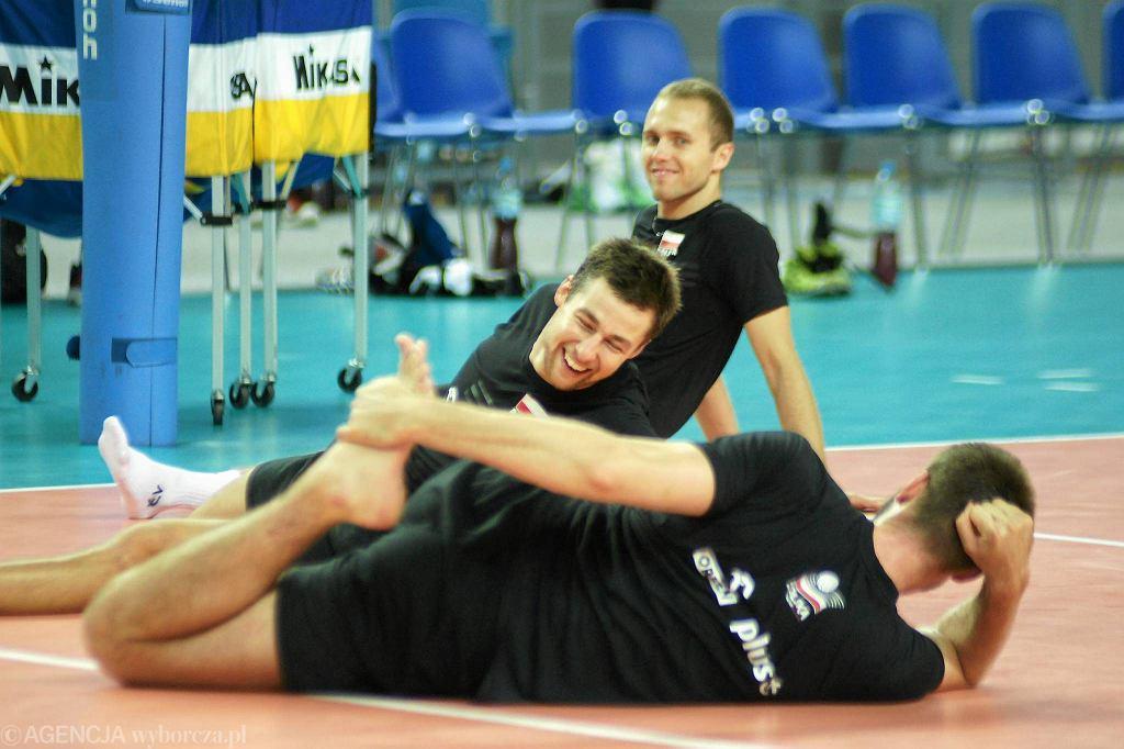 Trening siatkarskiej reprezentacji Polski w Orlen Arenie