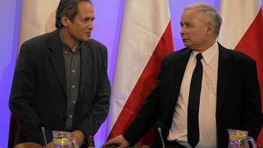 Jerzy Zelnik i Jarosław Kaczyński