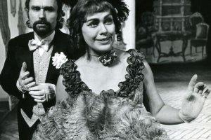 Zmar�a Wanda Kruszewska, wieloletnia aktorka Starego Teatru