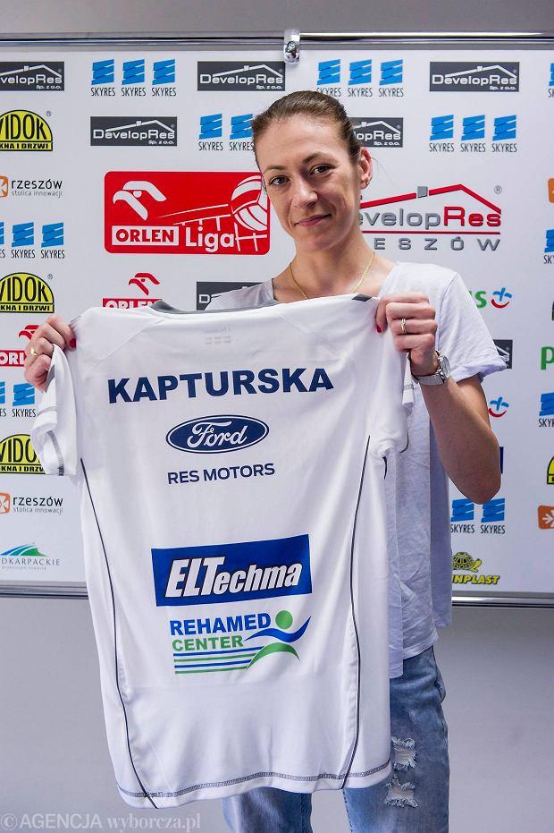 Joanna Kapturska, atakująca Developresu SkyRes Rzeszów.