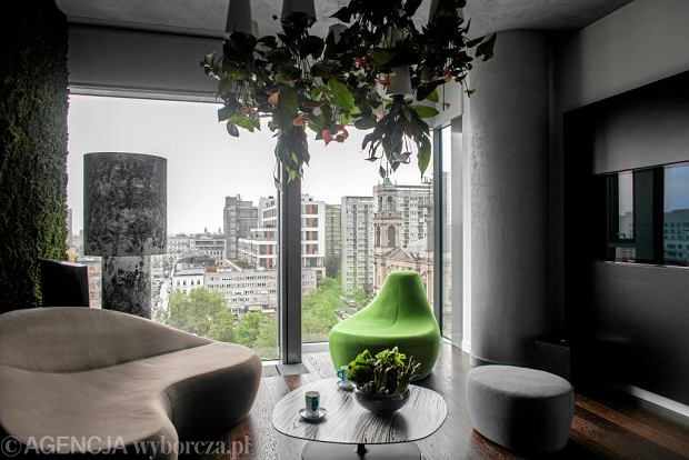 Apartamenty pokazowe w wieżowcu  Cosmopolitan, Warszawa