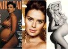"""Boom na seksowne (przynajmniej z założenia) ciążowe sesje zdjęciowe trwa w najlepsze. Jednak nie każda gwiazda wypada tak jak Demi Moore w słynnej sesji dla """"Vanity Fair"""" zrobionej przez Annie Leibovitz. Zobaczcie ciążowe rozbierane sesje gwiazd."""