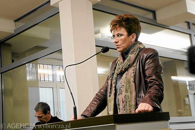 Aleksandra Jakubowska w styczniu 2010