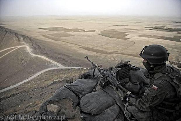 Polski posterunek w Afganistanie