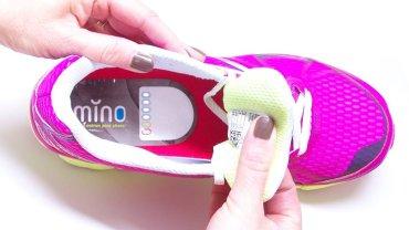 """MINO - """"licznik"""" do butów biegowych"""