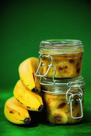 Chutney bananowy zrodzynkami