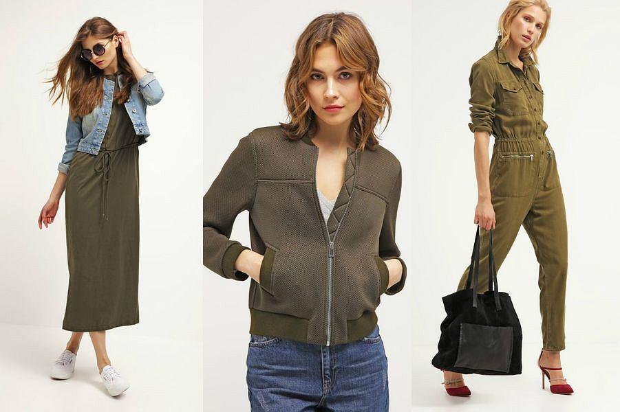 d7f74c3ac0 Ubrania w kolorze khaki - gwarancja udanej stylizacji