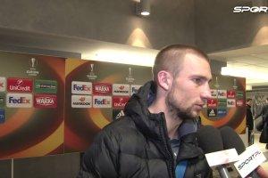 LE. Lech - Basel 0:1. Paw�owski: Liga Europy to s� wyrwane dru�yny, �apie si� do�wiadczenie
