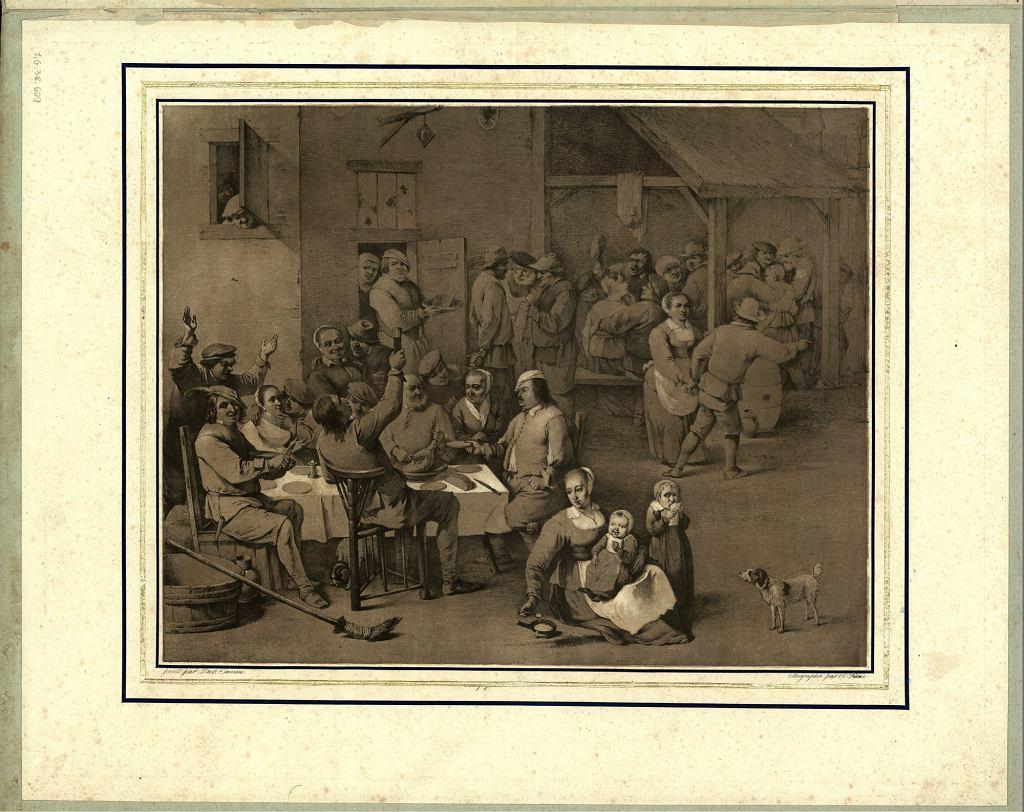 Biesiada w karczmie, Fendi, Peter (1796-1842)