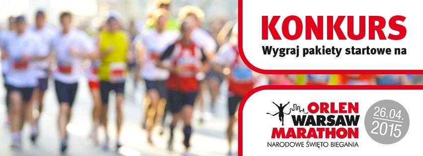 Konkurs przed Orlen Warsaw Marathonem