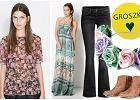 Ubrania i dodatki w stylu nowoczesnej hipiski