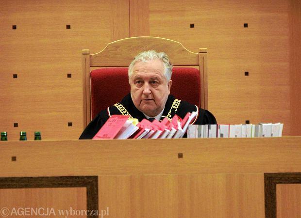Prof. Andrzej Rzepli�ski, prezes TK
