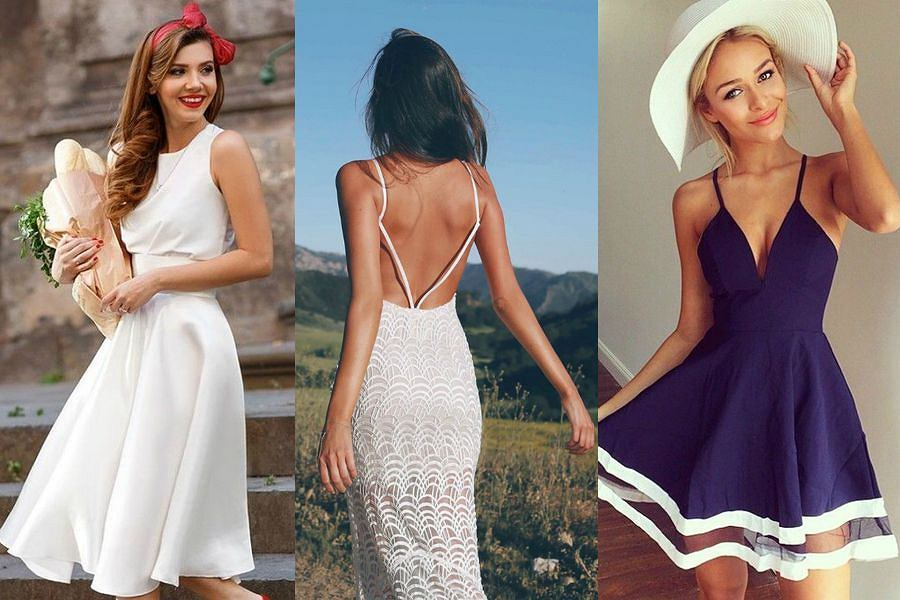 4a8bd63920 Najmodniejsze fasony sukienek tego lata