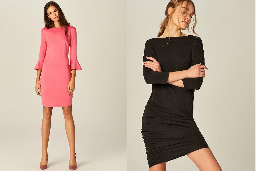 c8b9c52f3e Sukienka z dekoltem  zmysłowe i kobiece modele