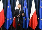 Andrzej Duda do korpusu dyplomatycznego: Przez pi�� lat wizyty na pi�ciu kontynentach