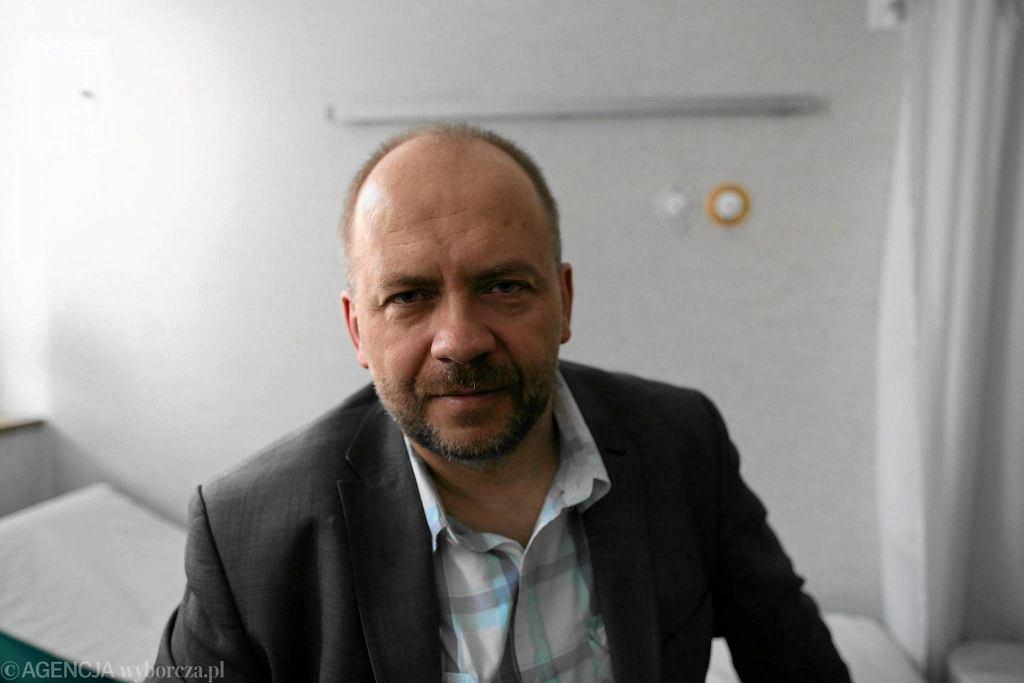 Dr Marek Bachański leczył medyczną marihuaną trudne przypadki padaczki w Centrum Zdrowia Dziecka w Międzylesiu