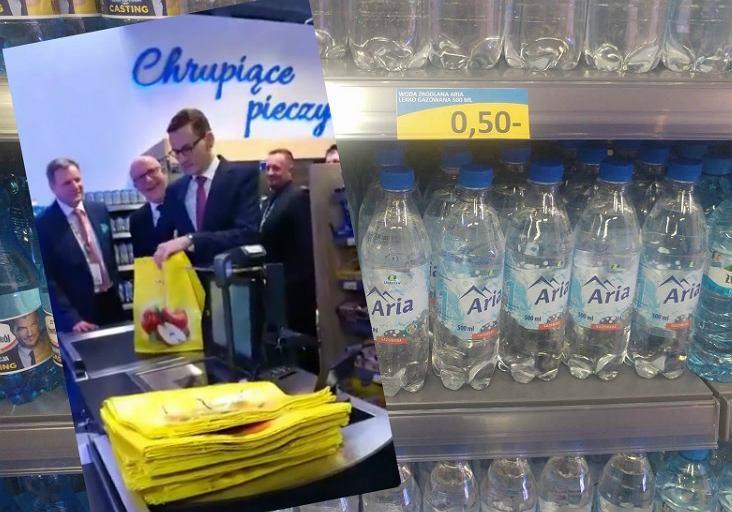 Mateusz Morawiecki w sklepie Lewiatan na Kongresie 590