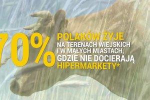 70 proc. Polaków mieszka na terenach, gdzie nie docierają hipermarkety