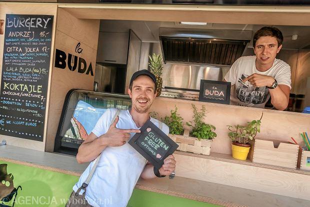 23.07.2014 Sopot . Food Truck La Buda . Fot. Dominik Sadowski / Agencja Gazeta