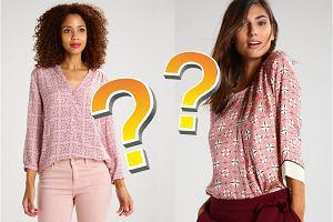 Drogie i tanie bluzki w jednej stylizacji - czy potrafisz wskazać, która kosztuje fortunę?