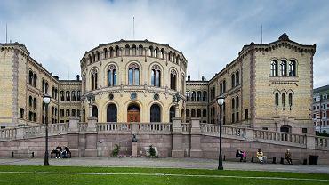 Budynek parlamentu Norwegii, w którym miał szpiegować zatrzymany Rosjanin