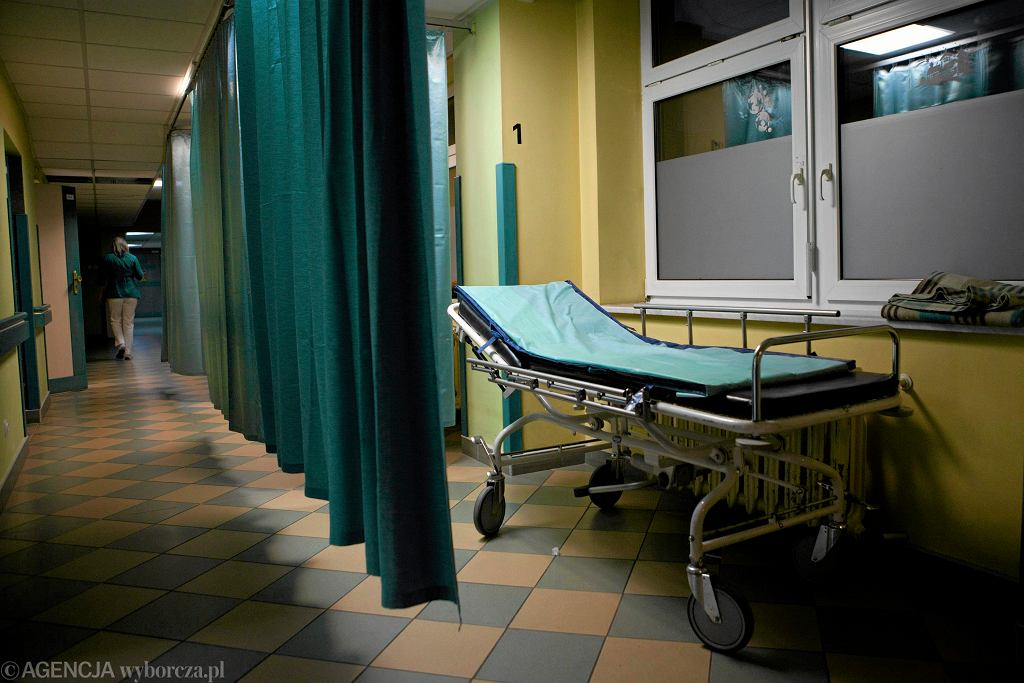 Szpitalny oddział ratunkowy (SOR). Zdjęcie ilustracyjne