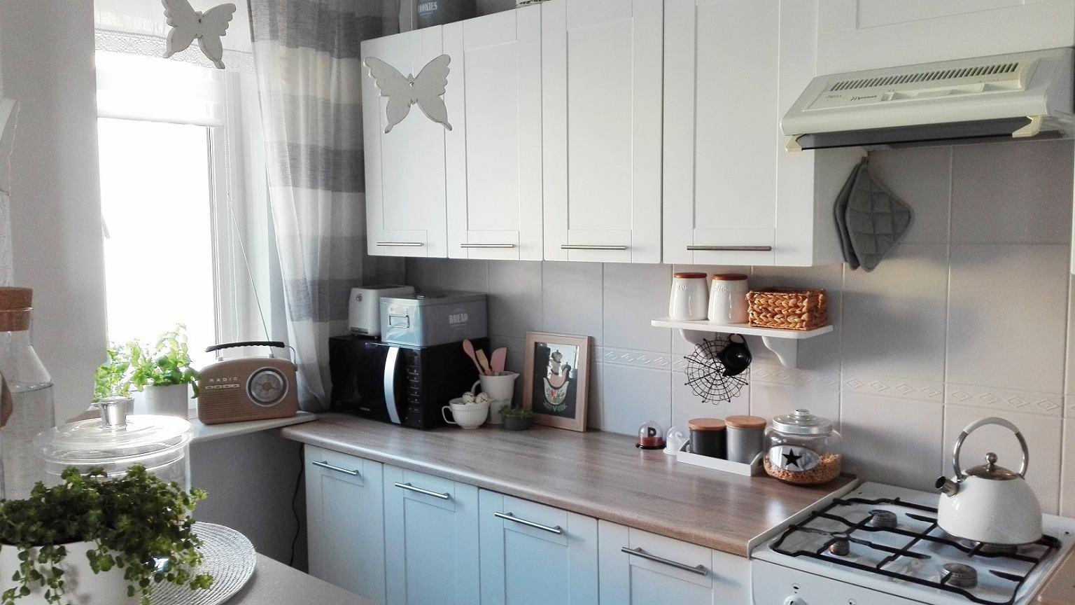 kuchnia w bloku czyli metamorfoza w mieszkaniu olgi