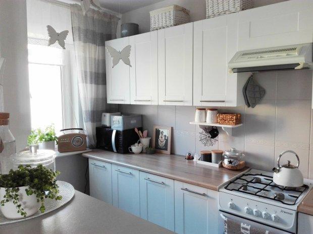 Metamorfoza kuchni w bloku -> Kuchnia Z Cegiel