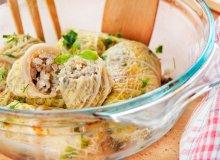 Gołąbki z kurczakiem, serem feta i kaszą jęczmienną - ugotuj