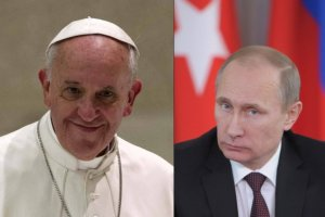 """""""Papież Franciszek i Putin wyjątkowo sobie bliscy"""" - ocenia """"La Stampa"""" przed ich pierwszym spotkaniem"""