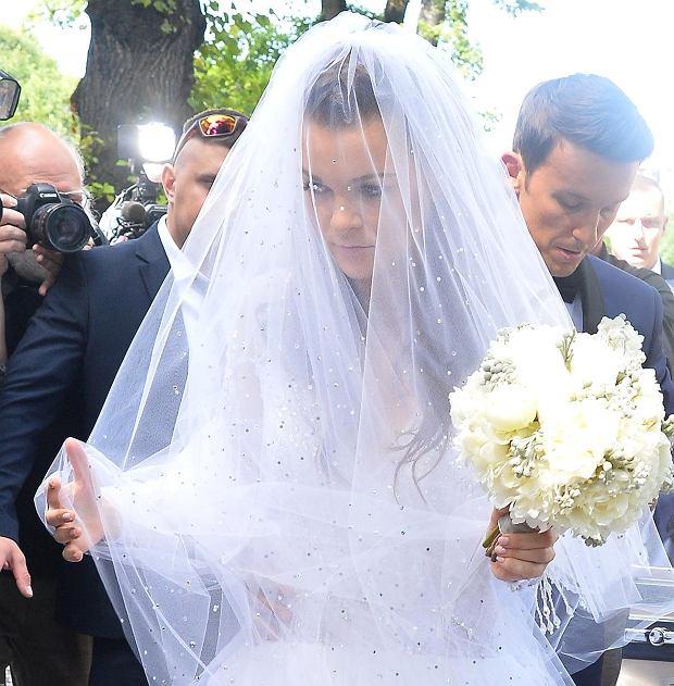 Zdjęcie numer 7 w galerii - Agnieszka Radwańska już po ślubie! Wśród gości sławy. Ale show kradnie suknia panny młodej. Obłędna! [ZDJĘCIA]
