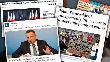 Zagraniczne media o aktualnej sytuacji w Polsce.