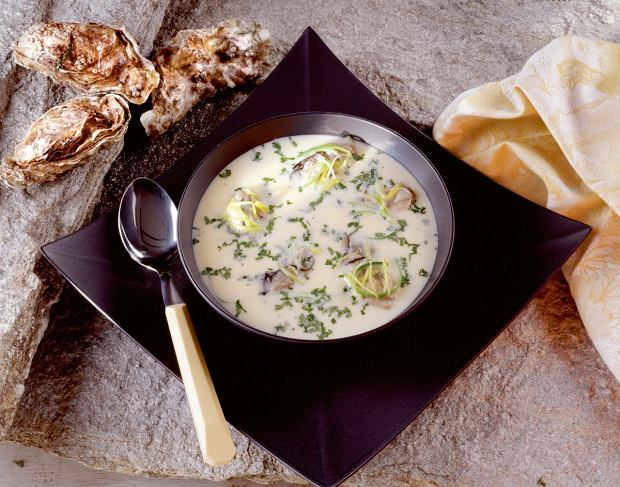 Zupa ostrygowa