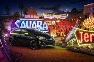 Toyota Prius C | Wiśnia i limonka