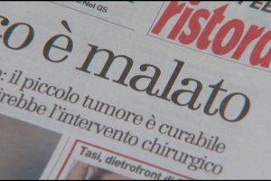 Włoska prasa informuje o chorobie papieża. Watykan dementuje