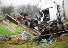 Pi�� lat wi�zienia dla Bia�orusina, kierowcy tira. Spowodowa� wypadek. Trzy osoby zgin�y