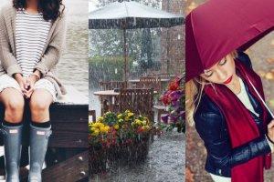 Najlepsze ubrania na wiosenną niepogodę