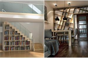 Domowa biblioteczka - regały i półki