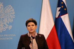 Analityczne rozważania premier Szydło