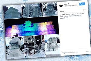 Gigantyczne rzeźby na festiwalu śniegu w Sapporo. Do ich budowy zużyto nawet kilkaset ton lodu [ZDJĘCIA]