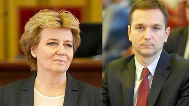 Hanna Zdanowska i Waldemar Buda