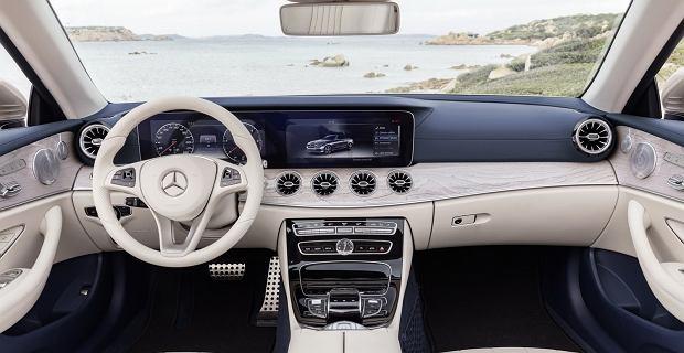 Mercedes klasy E Cabriolet 2017