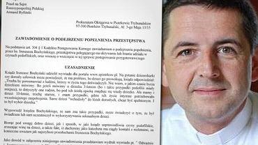 Poseł Ryfiński wysłał zawiadomienie do prokuratury ws. wypowiedzi duchownego